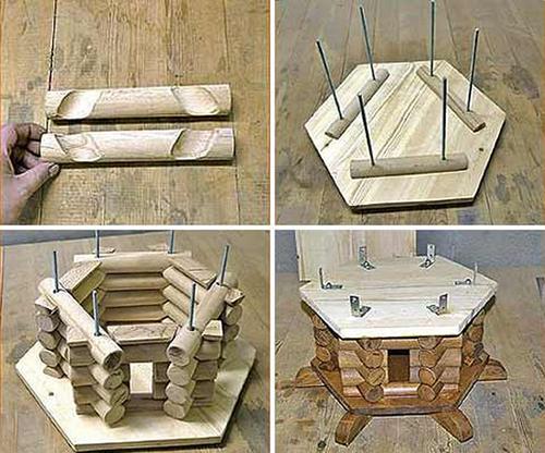 Как сделать декоративную мельницу своими руками