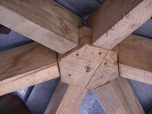 Как сделать шестигранную беседку на даче