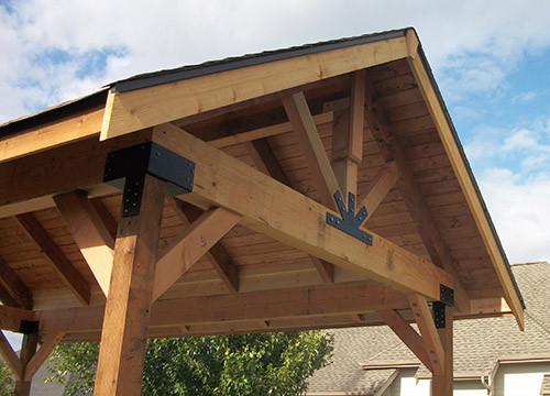 Крыши садовых домиков своими руками