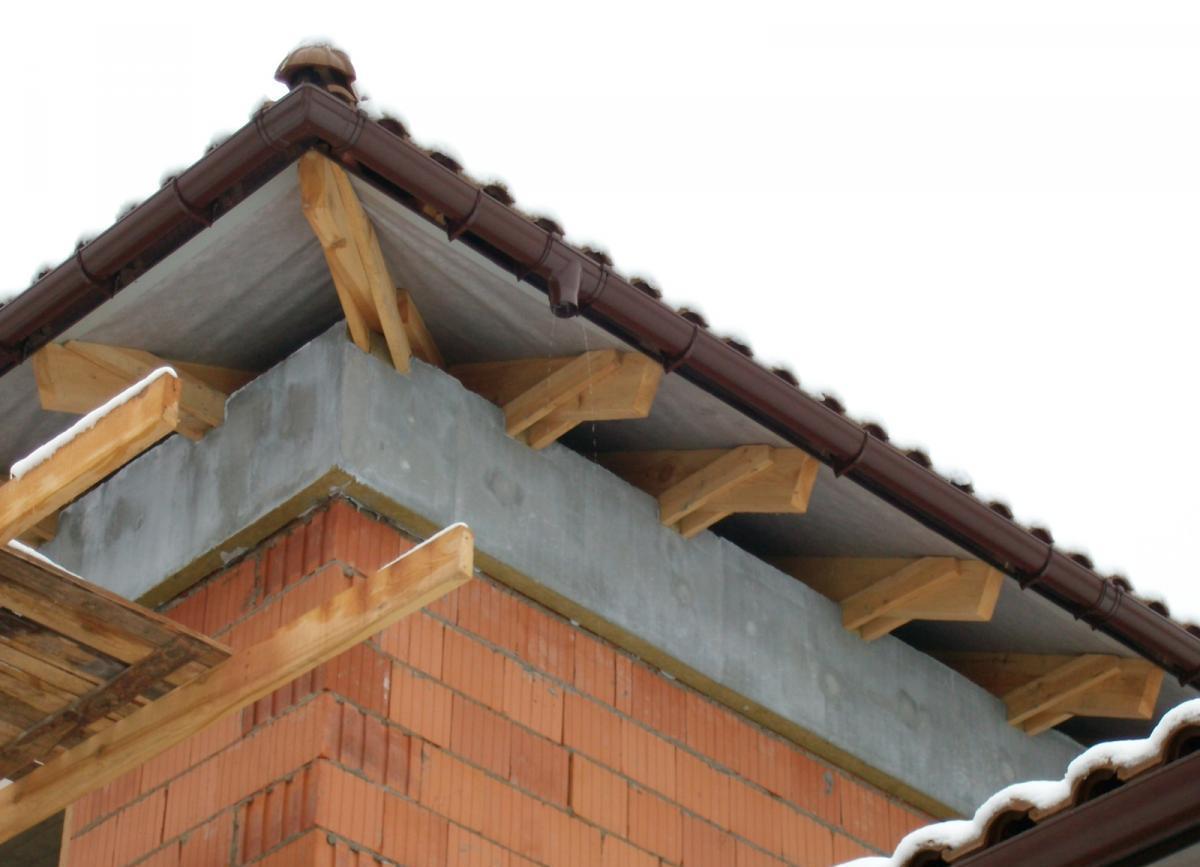 Как сделать карниз крыши своими руками фото 9