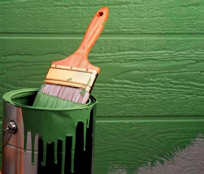 Зеленая краска своими руками