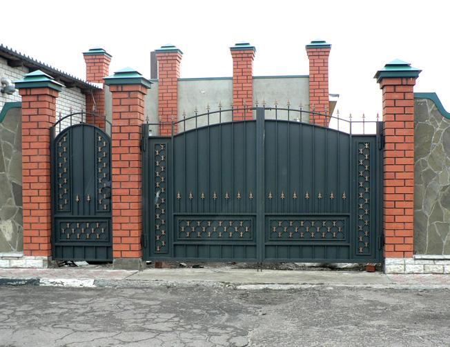 Ворота и калитки своими руками фото