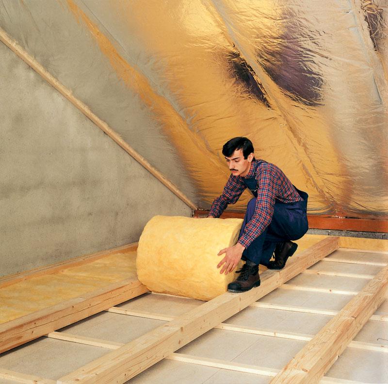 Как сделать пол мансарды в деревянном доме