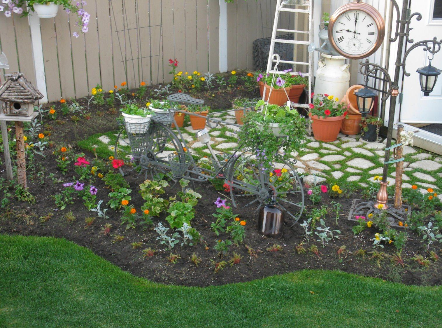Поделки своими руками для двора дачи сада
