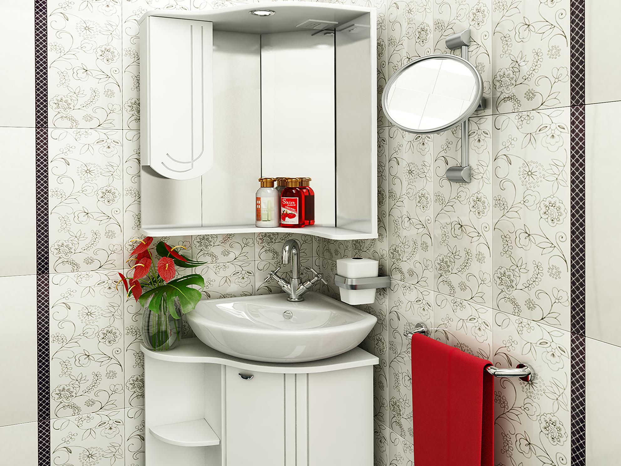 Мебель для ванной комнаты дизайн для маленькой площади