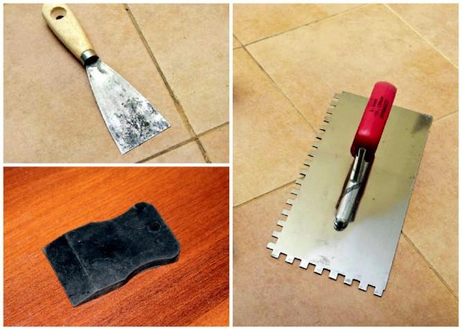 какие нужно инструменты дл¤ укладки плитки