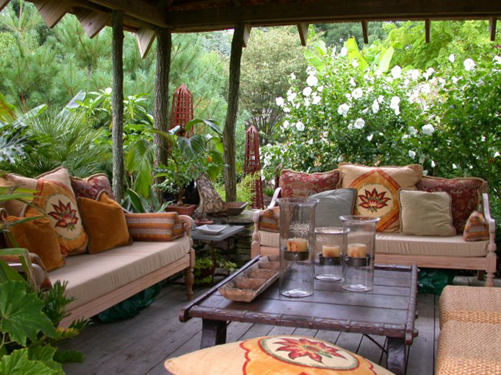 Landsacpe veranda decking designs