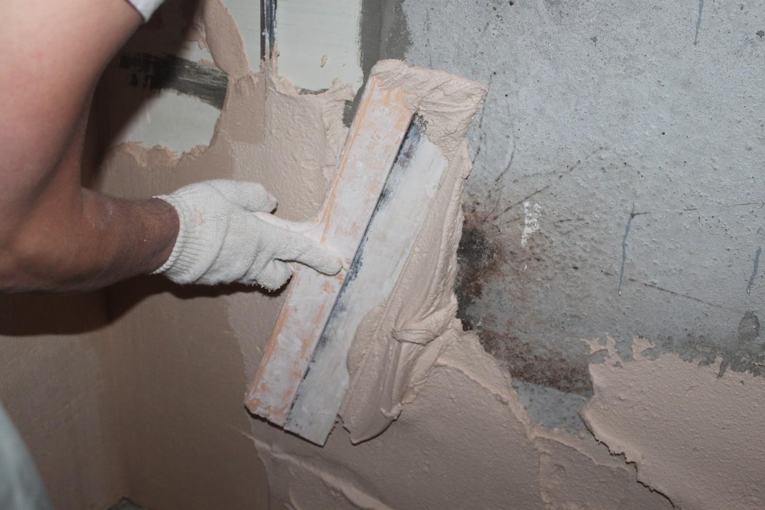 Оштукатуривание старых стен видео