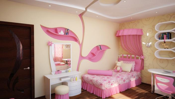 Детская комната для девочек дизайн фото своими руками