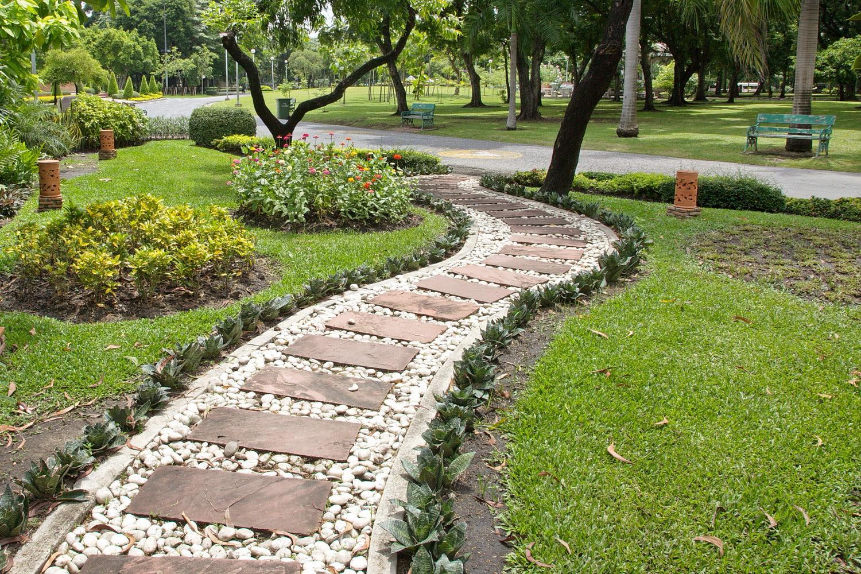 Садовые дорожки своими руками с малыми затратами из бетона фото 967