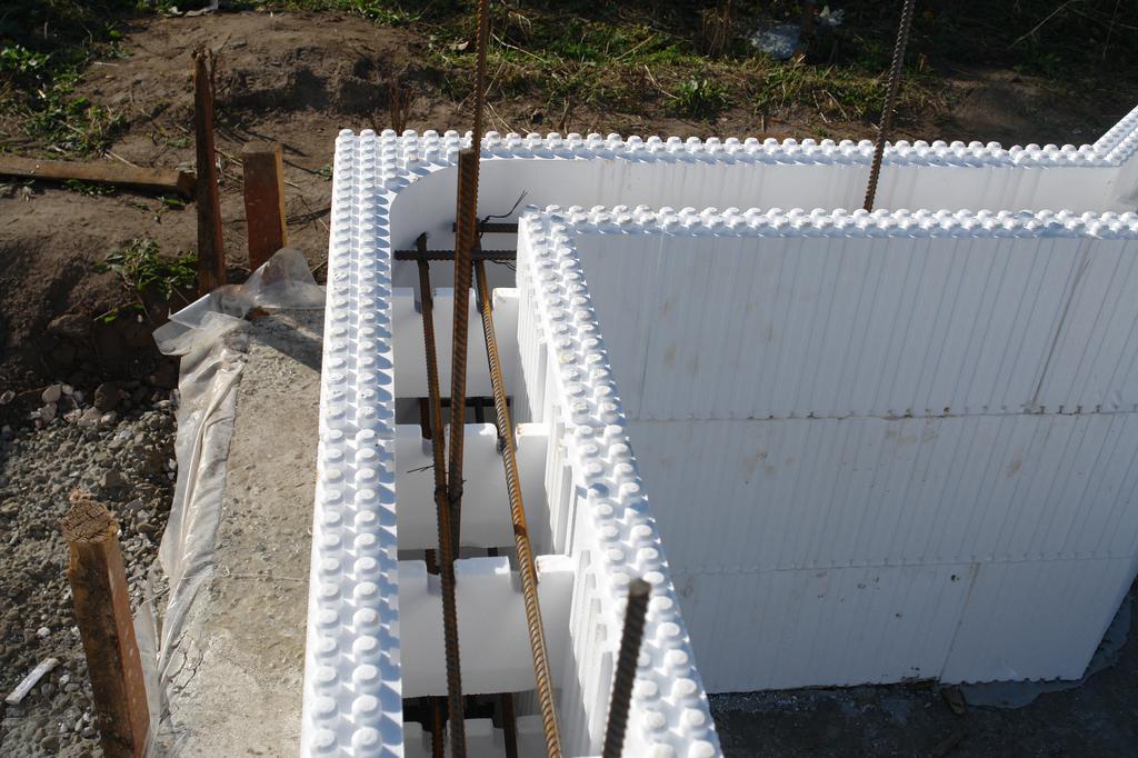 Дом из пенопласта и бетона своими руками 288