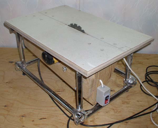 Циркулярный стол из ручной циркулярной пилы своими руками чертежи 198