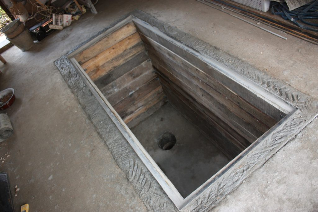 Как сделать овощную яму своими руками в гараже 46