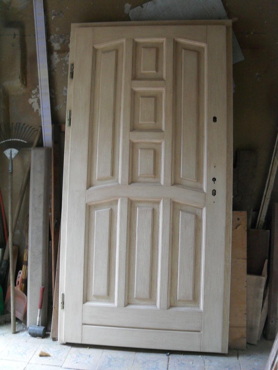 Реставрация деревяных дверей своими руками