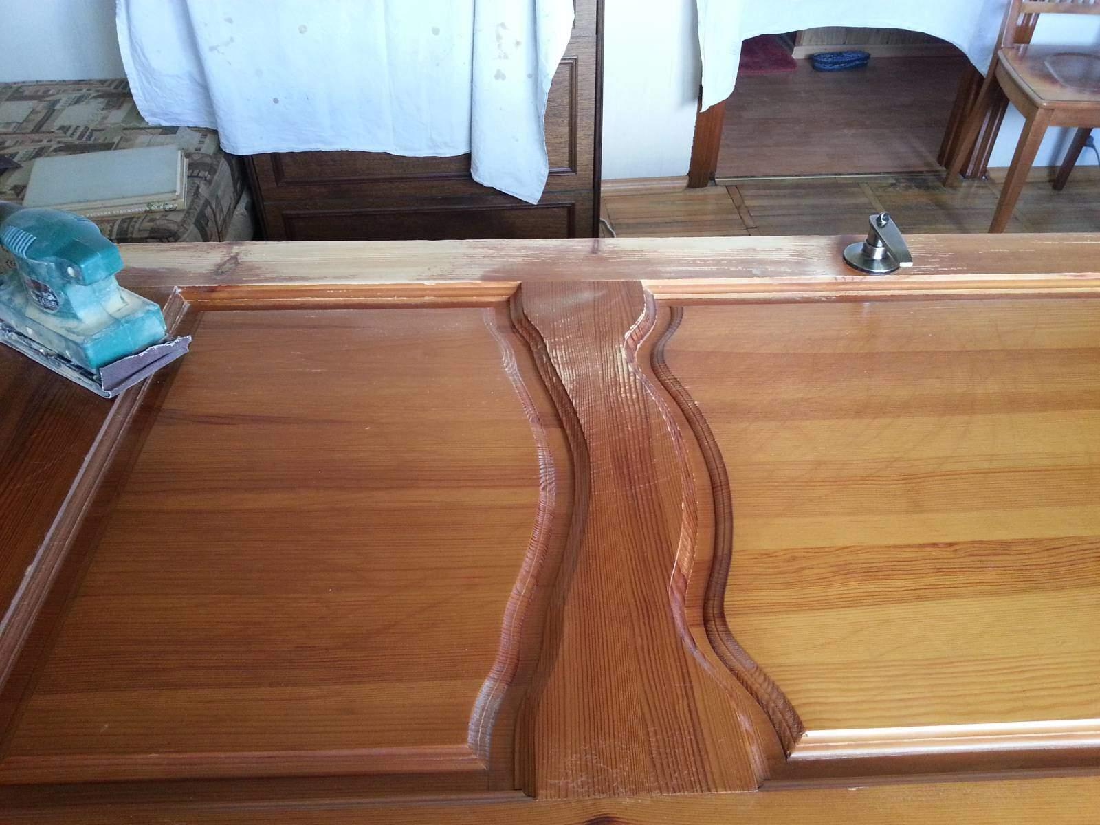 Лак деревянные двери своими руками
