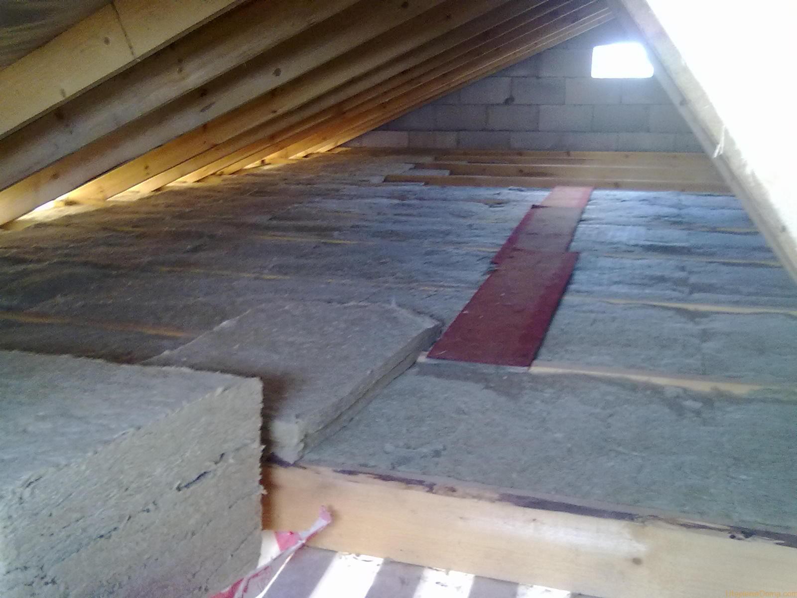 Пароизоляция утепление потолка в частном доме своими руками