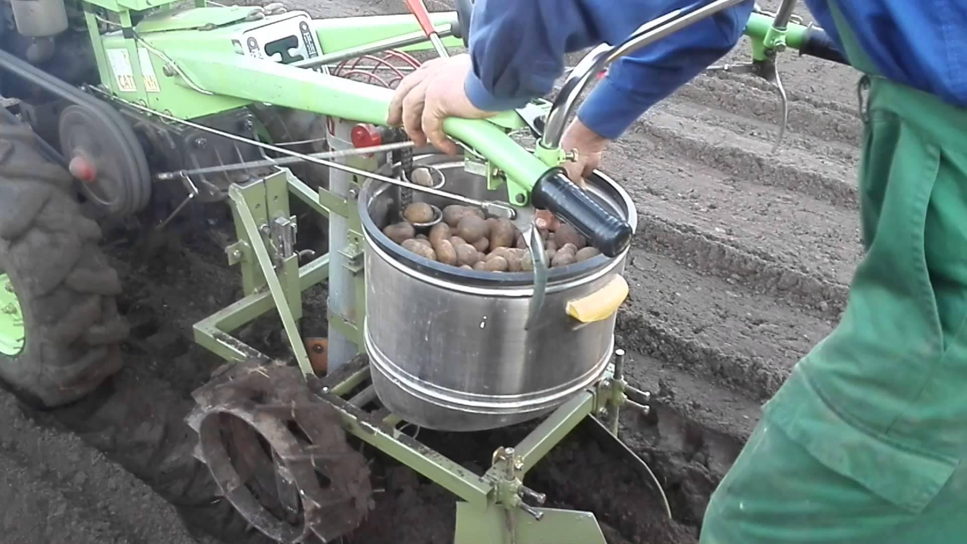 Как сделать своими руками картофелесажалка