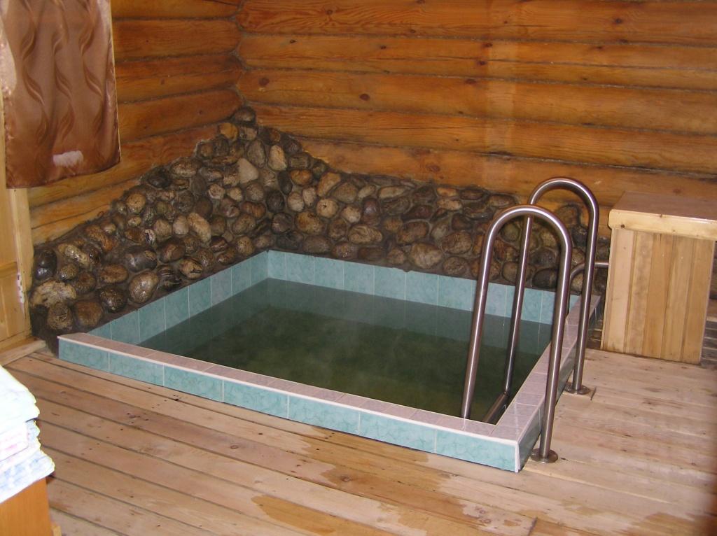 Бассейн в бане своими руками фотоотчет 96