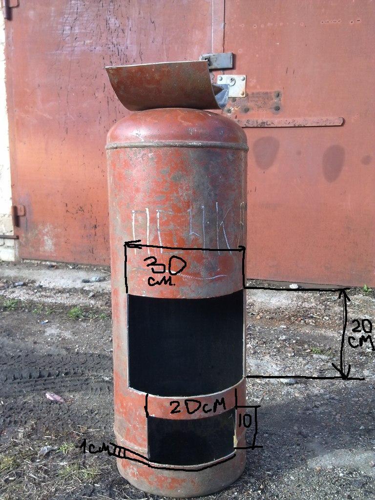 Газовая печь: для бани, дома - своими руками или купить? 73