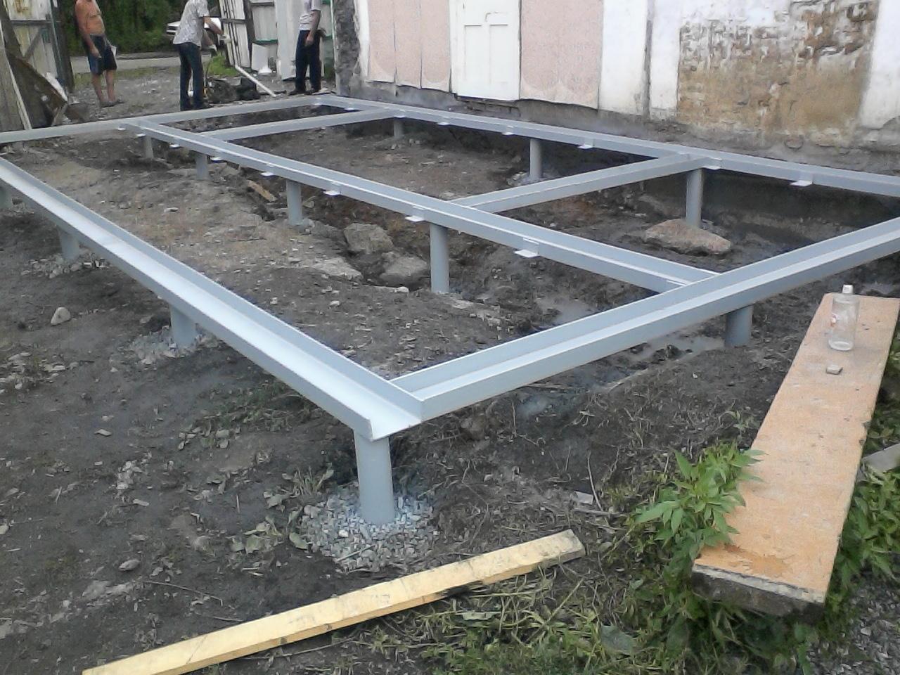 Возводим фундамент для пристройки к дому. Технология строительства ленточного фундамента. Ленточный фундамент для пристройки к д