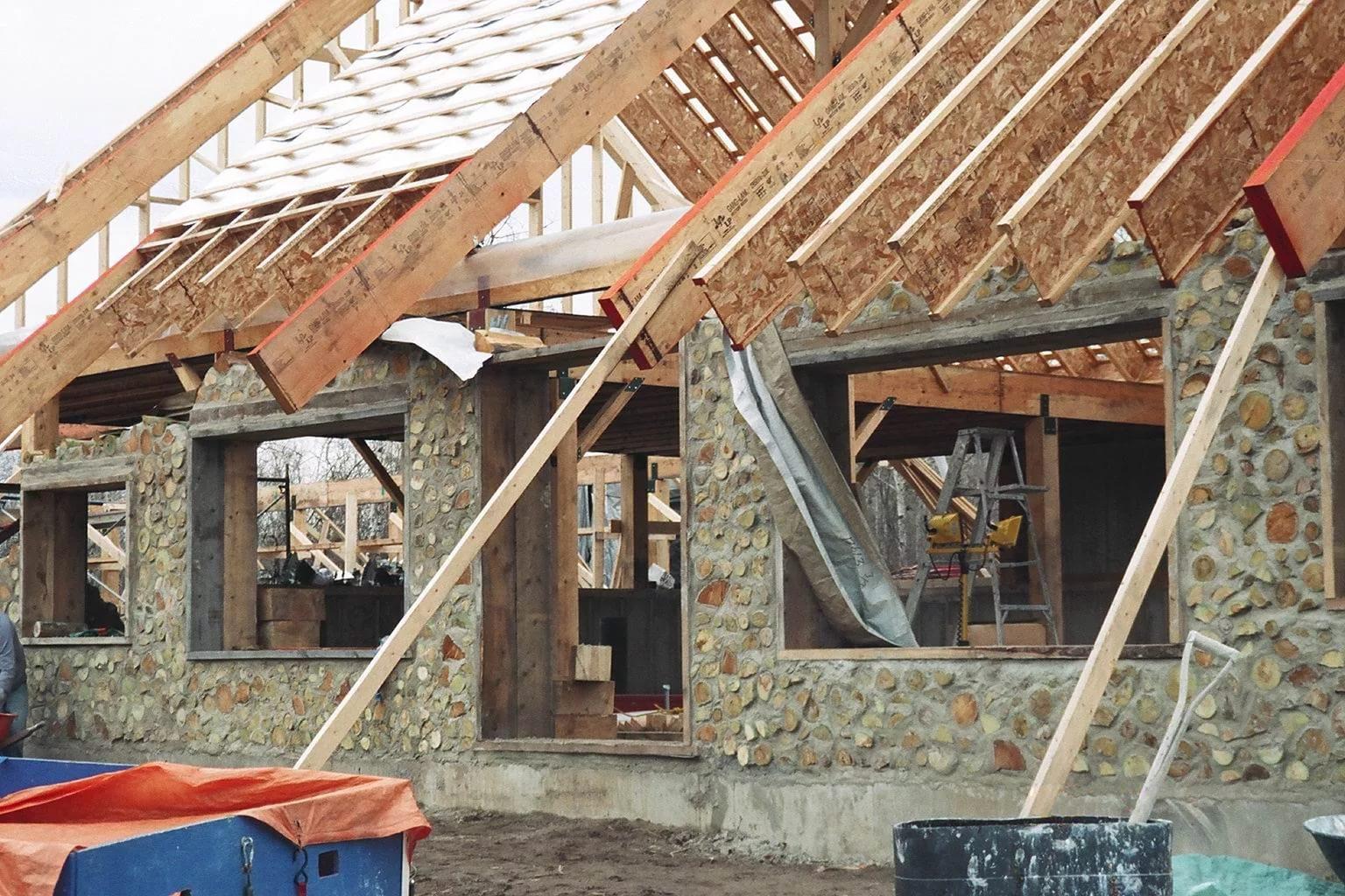 Как построить дом своими руками в фото