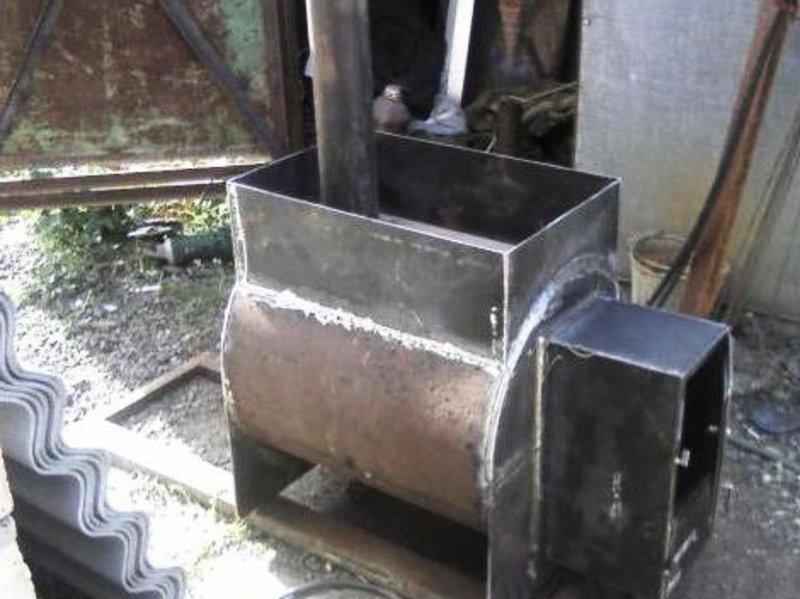 Своими руками печка в баню