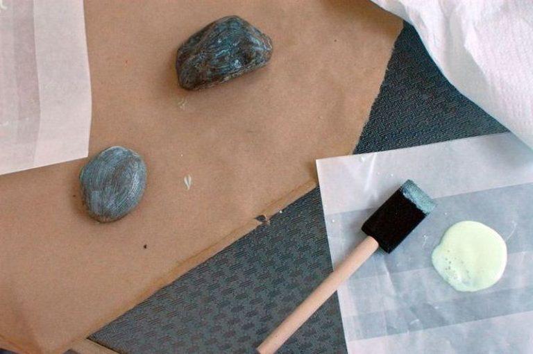 Светящийся камни своими руками 464
