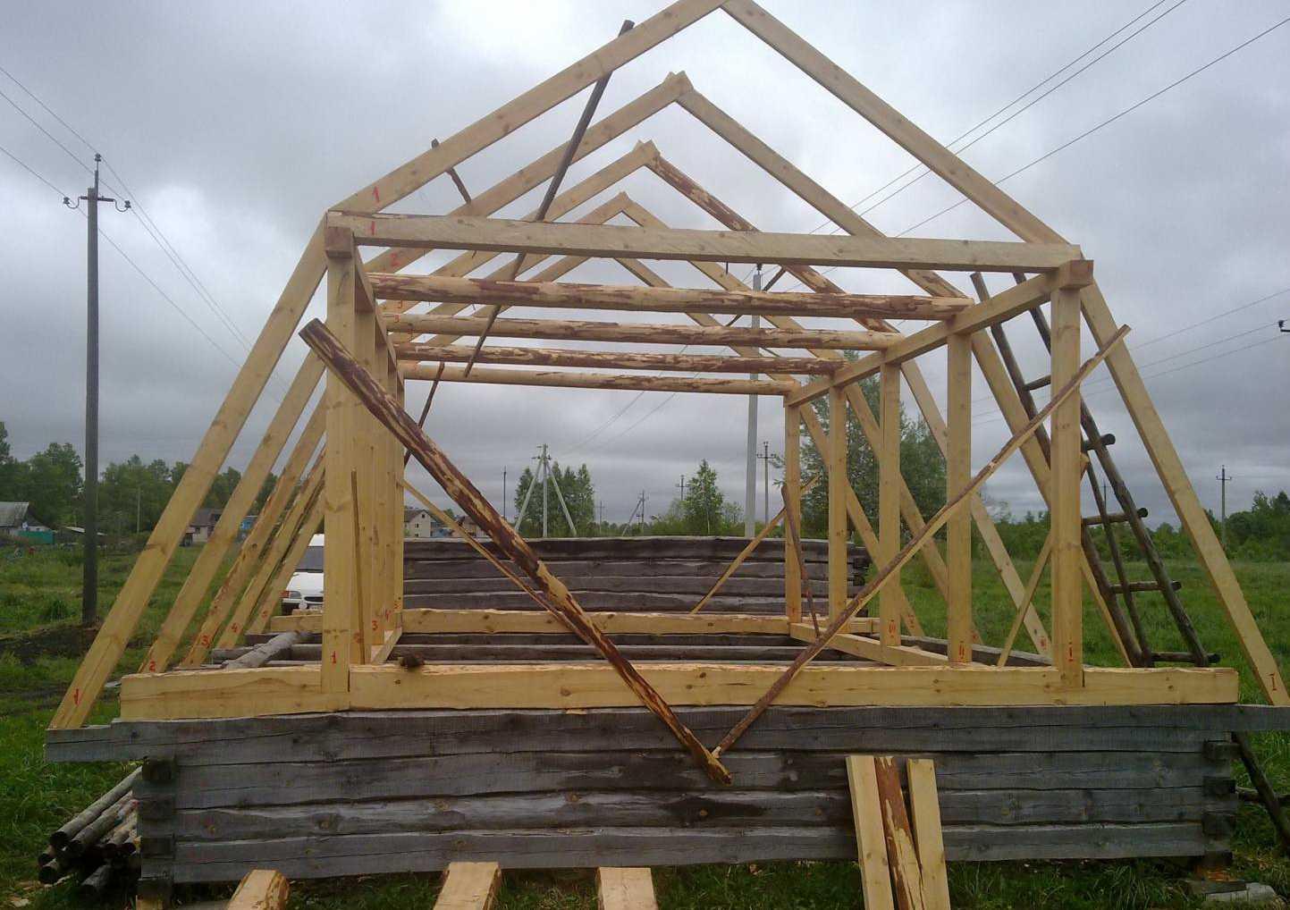 Как построить ломаную крышу своими руками пошаговая инструкция с фото
