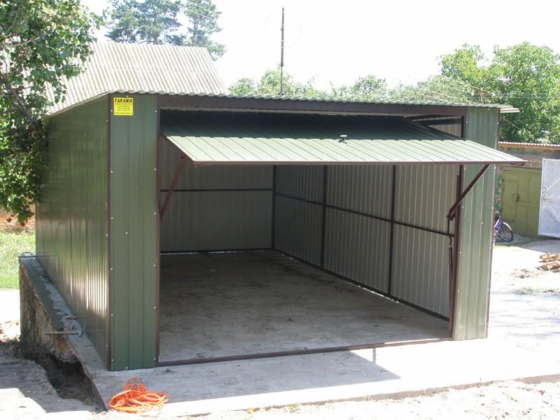 Каркасный гараж 7 на 7 чем перекрыть