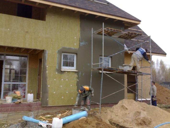 Ремонт дома своими руками наружный