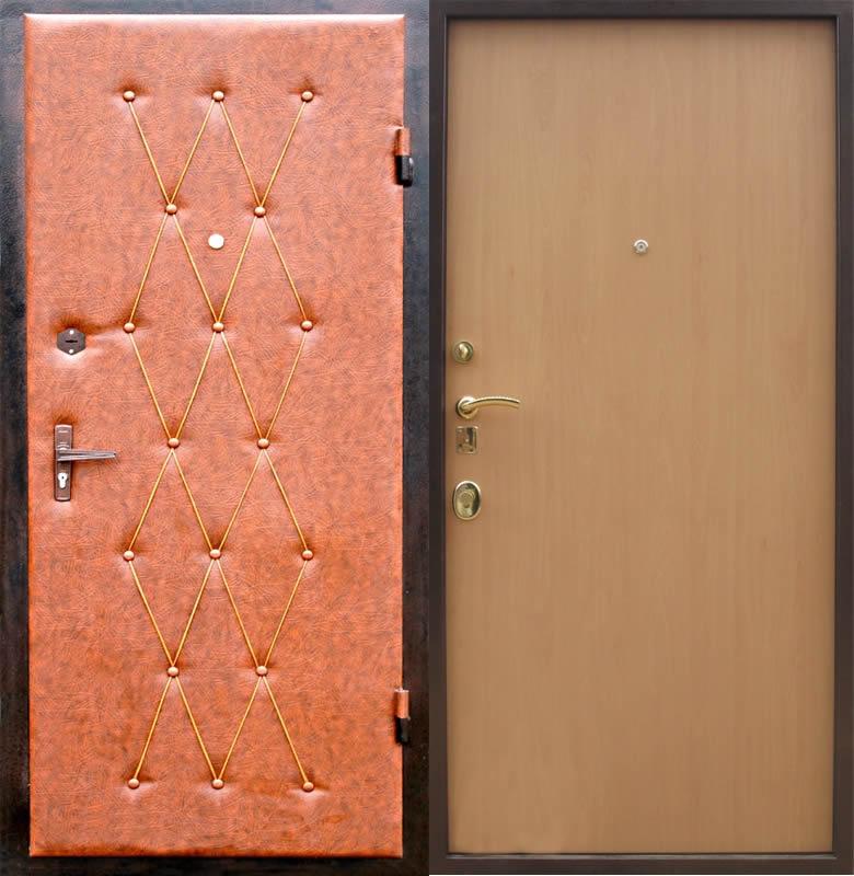 Своими руками обшивка металлической двери