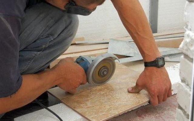 Укладка кафельной плитки в домашних условиях 548