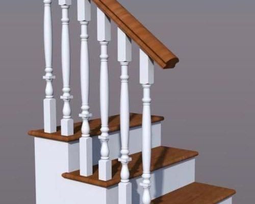 Лестница деревянная из березы, бука, дуба, ясеня – купить