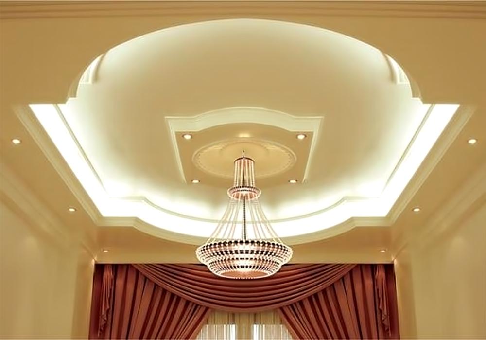Дизайн потолочные гипсокартоны