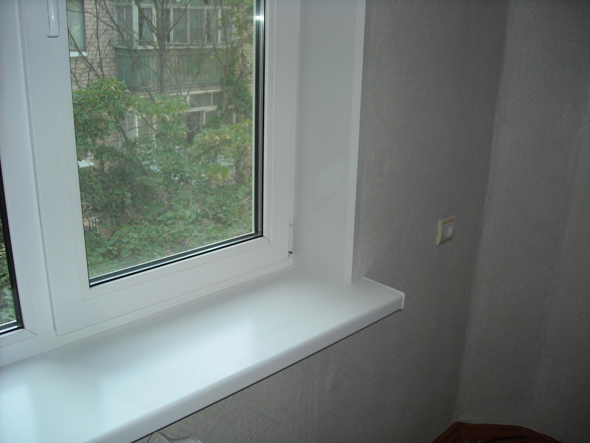 Как установить подоконник для пластикового окна 38