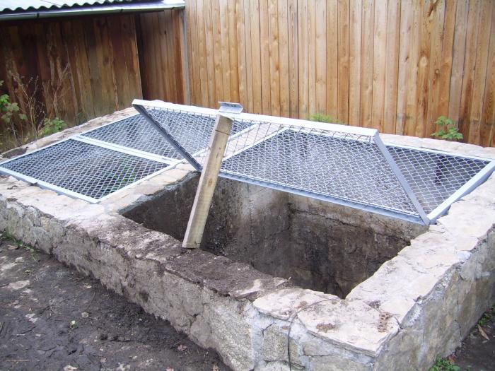 Как сделать компостную яму 937