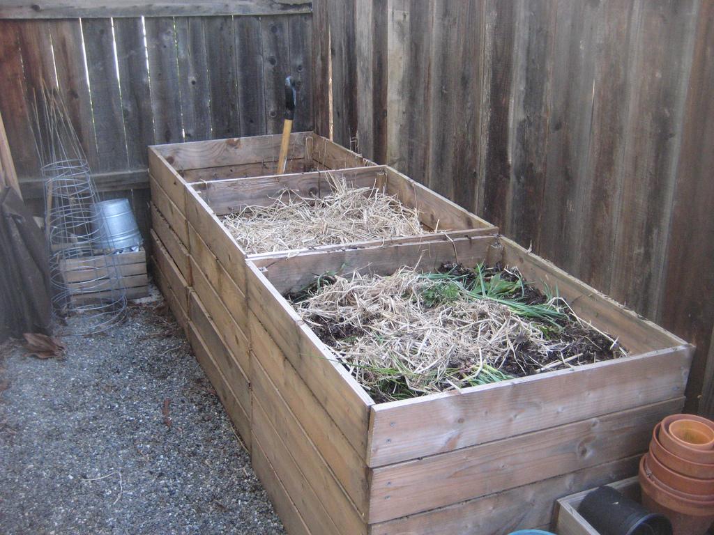 Как сделать компостную яму 833