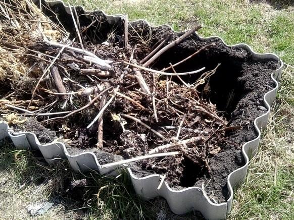 Сделать компостную яму своими руками на дачном участке 60