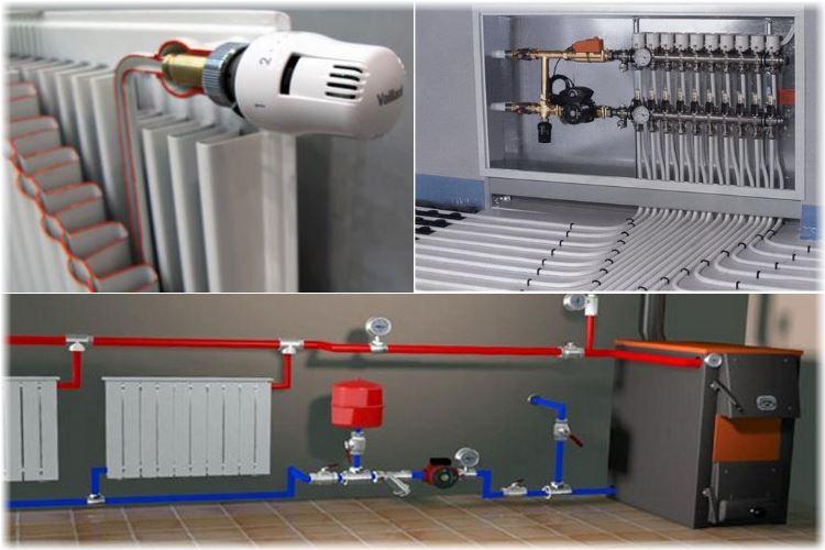 Что такое водяное отопление в частном доме своими руками 733